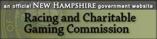 New Hampshire Racing and Charitable Gaming Commission banner